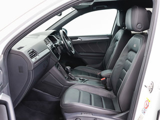 2018 Volkswagen Tiguan 5NA MY19 Wolfsburg Edition White 7 Speed Auto Direct Shift Wagon