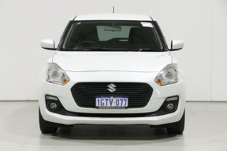 2019 Suzuki Swift AL GL Navi White Continuous Variable Hatchback.