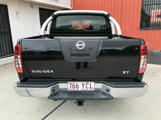 2012 Nissan Navara D40 S6 MY12 ST Black 5 Speed Sports Automatic Utility