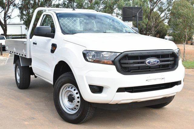 New Ford Ranger PX MkIII 2020.75MY XL Hi-Rider St Marys, 2020 Ford Ranger PX MkIII 2020.75MY XL Hi-Rider Arctic White 6 Speed Sports Automatic