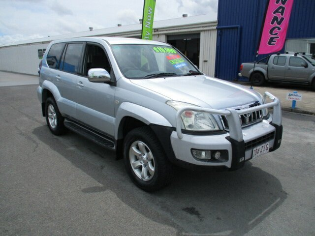 Used Toyota Landcruiser 120 GXL Woodridge, 2005 Toyota Landcruiser 120 GXL Silver 5 Speed Automatic Wagon