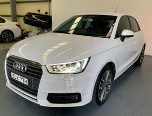 2017 Audi A1 8X MY17 Sport Sportback S Tronic White 7 Speed Sports Automatic Dual Clutch Hatchback.