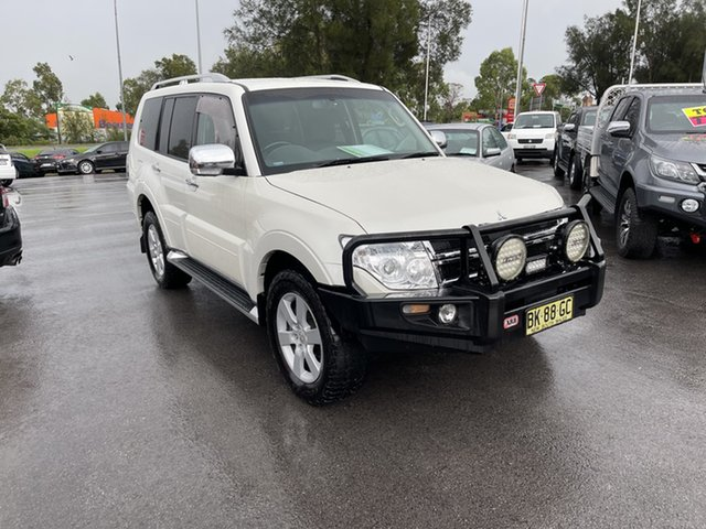 Used Mitsubishi Pajero NT MY11 GLX Maitland, 2010 Mitsubishi Pajero NT MY11 GLX White 5 Speed Sports Automatic Wagon
