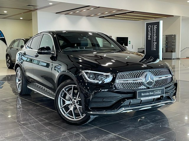 Used Mercedes-Benz GLC-Class C253 801MY GLC300 Coupe 9G-Tronic 4MATIC Hervey Bay, 2020 Mercedes-Benz GLC-Class C253 801MY GLC300 Coupe 9G-Tronic 4MATIC Black 9 Speed Sports Automatic