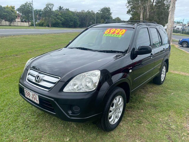 Used Honda CR-V RD MY2005 Sport 4WD Clontarf, 2005 Honda CR-V RD MY2005 Sport 4WD Black 5 Speed Manual Wagon