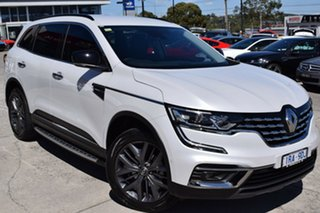 2020 Renault Koleos HZG MY20 Black Edition X-tronic White 1 Speed Constant Variable Wagon.