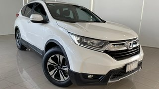 2017 Honda CR-V RW MY18 VTi FWD White 1 Speed Constant Variable Wagon.