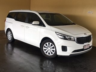 2015 Kia Carnival YP MY16 Update S White 6 Speed Automatic Wagon.