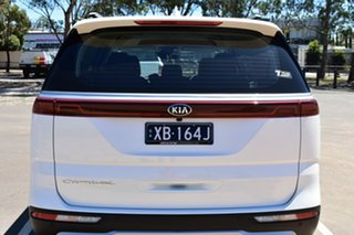 2020 Kia Carnival KA4 MY21 SLi Snow White Pearl 8 Speed Sports Automatic Wagon.