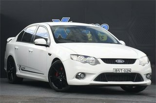 2010 Ford Falcon FG XR6 Turbo 50th Anniversary White 6 Speed Sports Automatic Sedan.