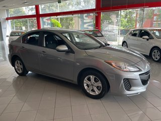 2013 Mazda 3 BL10F2 MY13 Neo Activematic Silver 5 Speed Sports Automatic Sedan