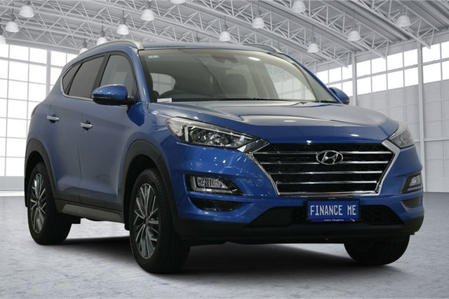 Used Hyundai Tucson TL3 MY19 Active X 2WD Victoria Park, 2018 Hyundai Tucson TL3 MY19 Active X 2WD Aqua Blue 6 Speed Automatic Wagon