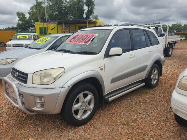 Used Toyota RAV4 Holtze, 2001 Toyota RAV4 White 5 Speed Manual Wagon