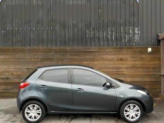 2012 Mazda 2 DE10Y2 MY12 Neo Grey 5 Speed Manual Hatchback.