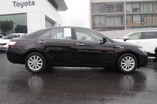 2011 Toyota Camry AHV40R Hybrid Luxury Black Mica Metallic 1 Speed Constant Variable Sedan Hybrid.