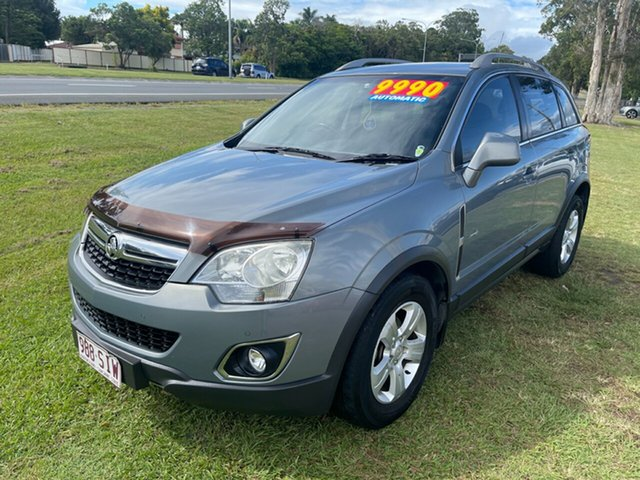 Used Holden Captiva CG Series II 5 AWD Clontarf, 2011 Holden Captiva CG Series II 5 AWD Silver 6 Speed Sports Automatic Wagon
