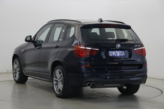 2017 BMW X3 F25 LCI xDrive30d Steptronic Blue 8 Speed Sports Automatic Wagon