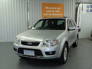 2011 Ford Territory SY MkII TS AWD Silver 6 Speed Sports Automatic Wagon.