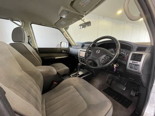 2015 Nissan Patrol Y61 GU 9 ST Silver, Chrome 4 Speed Automatic Wagon