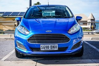 2016 Ford Fiesta WZ Ambiente PwrShift Blue 6 Speed Sports Automatic Dual Clutch Hatchback.