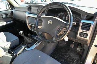 2014 Nissan Patrol Y61 GU 9 ST Silver 5 Speed Manual Wagon