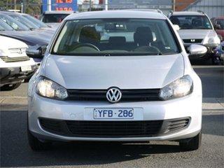 2011 Volkswagen Golf VI 77TSI Silver Sports Automatic Dual Clutch Hatchback.