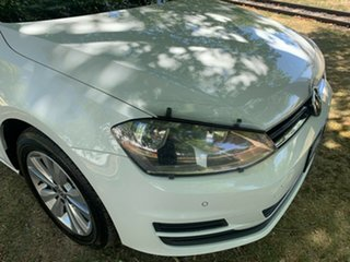 2015 Volkswagen Golf VII MY15 90TSI White 6 Speed Manual Hatchback