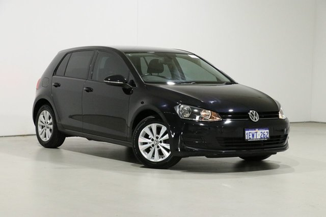 Used Volkswagen Golf AU MY15 90 TSI Comfortline Bentley, 2015 Volkswagen Golf AU MY15 90 TSI Comfortline Black 7 Speed Auto Direct Shift Hatchback