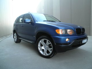 2001 BMW X5 E53 Steptronic Topasblau 5 Speed Sports Automatic Wagon.