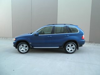 2001 BMW X5 E53 Steptronic Topasblau 5 Speed Sports Automatic Wagon