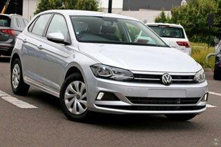 2020 Volkswagen Polo AW MY21 70TSI DSG Trendline Silver 7 Speed Sports Automatic Dual Clutch.