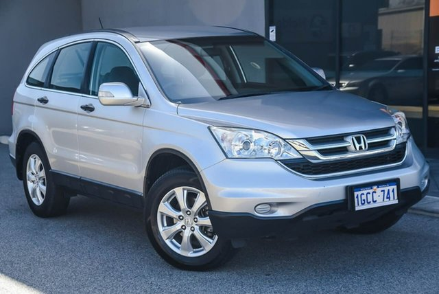 Used Honda CR-V RE MY2011 4WD Osborne Park, 2011 Honda CR-V RE MY2011 4WD Silver 5 Speed Automatic Wagon