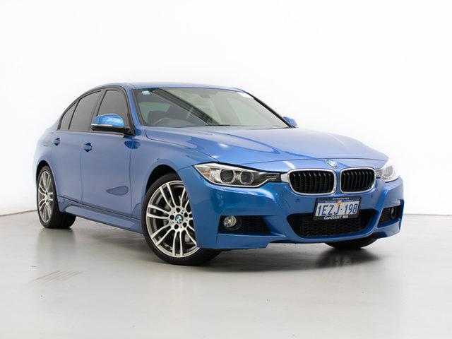 Used BMW Activehybrid 3 F30 , 2013 BMW Activehybrid 3 F30 Estoril Blue 8 Speed Automatic Sedan