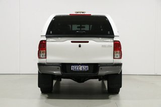 2016 Toyota Hilux GUN125R Workmate (4x4) White 6 Speed Automatic Dual Cab Utility