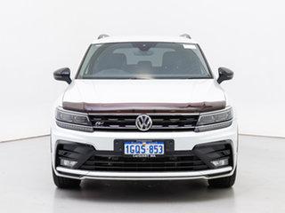 2018 Volkswagen Tiguan 5NA MY19 Wolfsburg Edition White 7 Speed Auto Direct Shift Wagon.