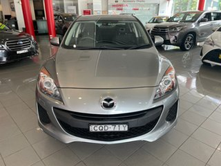 2013 Mazda 3 BL10F2 MY13 Neo Activematic Silver 5 Speed Sports Automatic Sedan.