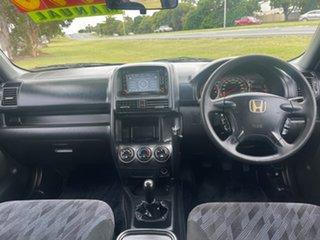 2005 Honda CR-V RD MY2005 Sport 4WD Black 5 Speed Manual Wagon