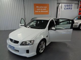 2010 Holden Commodore VE II SV6 White 6 Speed Sports Automatic Sedan