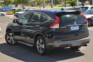 2013 Honda CR-V RM VTi-L 4WD Black 5 Speed Automatic Wagon.