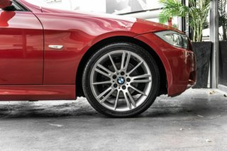 2008 BMW 3 Series E90 MY08 320i Steptronic Executive Red 6 Speed Sports Automatic Sedan