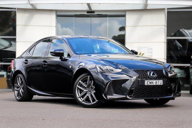 Used Lexus IS ASE30R IS300 F Sport Sutherland, 2018 Lexus IS ASE30R IS300 F Sport Black 8 Speed Sports Automatic Sedan