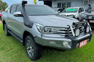 2015 Toyota Hilux GUN126R SR5 Double Cab Silver 6 Speed Sports Automatic Utility.