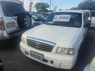 2004 Mazda Bravo B2500 DX Freestyle 4x2 White 5 Speed Manual Cab Chassis.