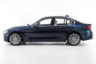 2015 BMW 3 Series F30 LCI 320i Luxury Line Blue 8 Speed Sports Automatic Sedan