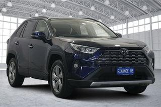 2019 Toyota RAV4 Mxaa52R Cruiser 2WD Saturn Blue 10 Speed Constant Variable Wagon.