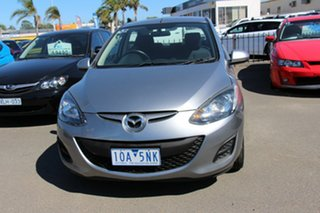 2011 Mazda 2 DE10Y2 MY12 Neo Silver 5 Speed Manual Hatchback.