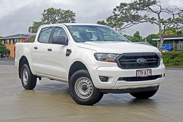 Used Ford Ranger PX MkIII 2020.75MY XL Capalaba, 2020 Ford Ranger PX MkIII 2020.75MY XL Arctic White 6 Speed Sports Automatic Double Cab Pick Up