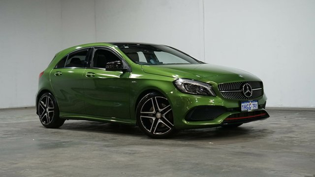 Used Mercedes-Benz A-Class W176 806MY A250 D-CT 4MATIC Sport Welshpool, 2016 Mercedes-Benz A-Class W176 806MY A250 D-CT 4MATIC Sport Green 7 Speed