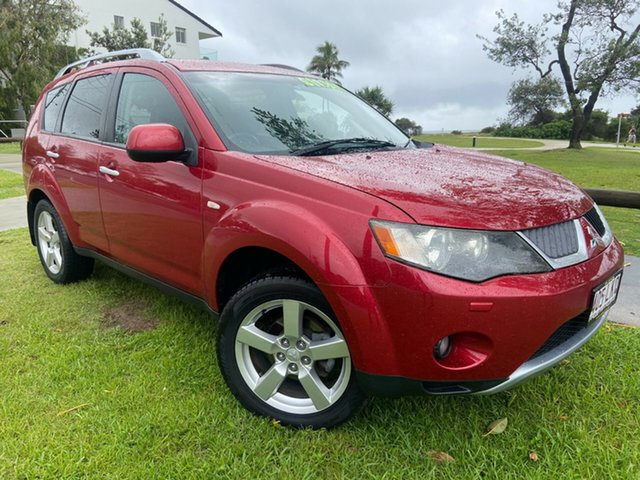Used Mitsubishi Outlander ZG MY09 VR-X Tugun, 2008 Mitsubishi Outlander ZG MY09 VR-X Red 6 Speed Sports Automatic Wagon
