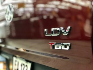 2019 LDV T60 SK8C Luxe Burgundy 6 Speed Sports Automatic Utility